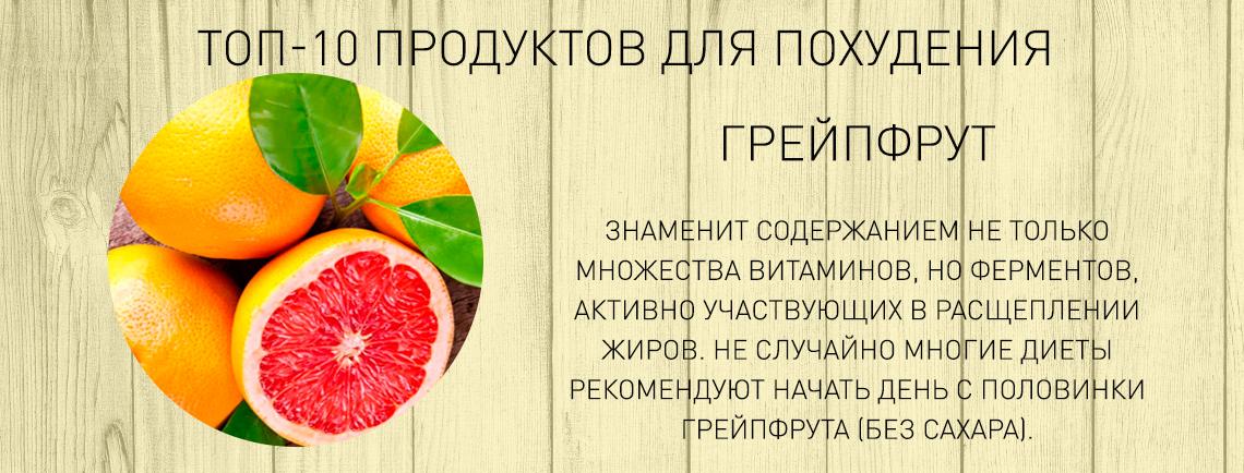 продукты для похудения сжигающие жир