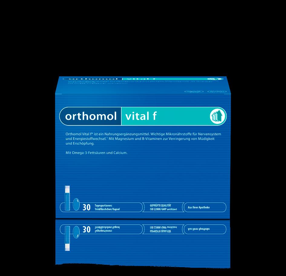 Ортомол витал ф