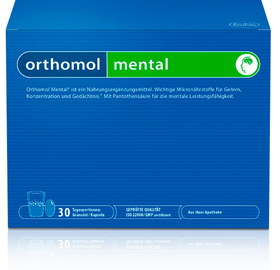 Orthomol Mental Инструкция По Применению - фото 4